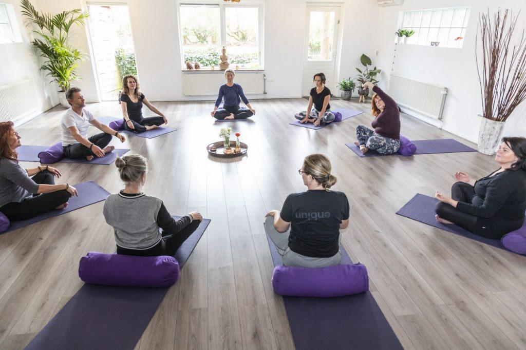Nieuwe lessen bij Pop-up Yoga