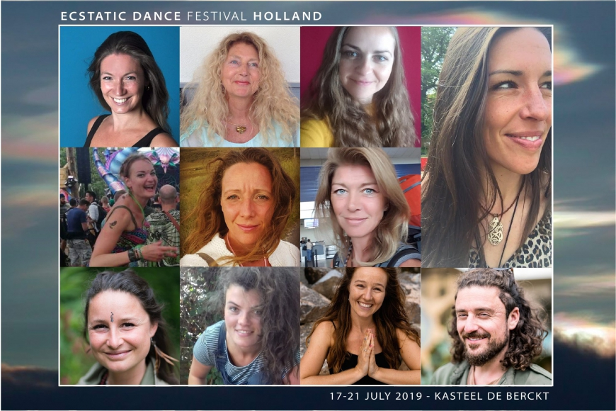 Ecstatic dance festival Holland 17-21 juli 2019